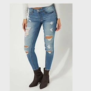 Rue 21 distressed Jegging-size 4